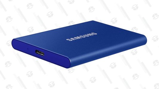 Give Your Computer Some Breathing Room With $10 off Samsung's 1TB Portable SSD