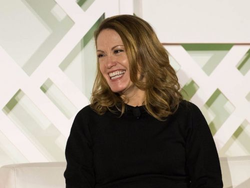Microsoft's Peggy Johnson is having a spectacular career thanks to a fluke conversation she had in college
