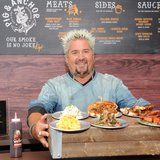 Guy Fieri Is Cooking More Than 5,000 Meals a Day For California Wildfire Victims