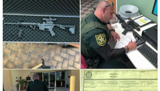 'Something needs to change': Man turns in rifle to authorities