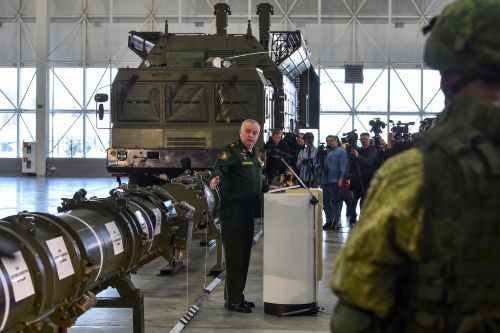 U.S. Begins Work on New Missiles as Trump Scraps Treaty with Russia