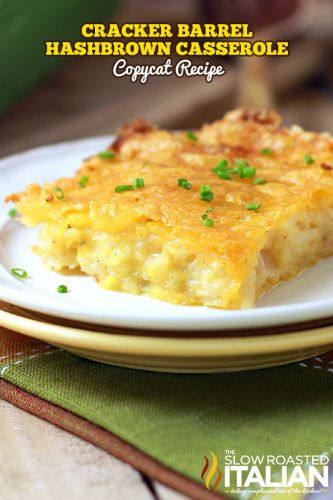 Copycat Cracker Barrel Hash Brown Casserole
