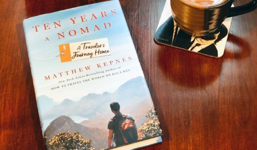 My new book, Ten Years a Nomad, is out TODAY!