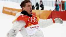 Shaun White Makes History With Gold Medal Win In Halfpipe