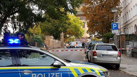 Two killed in shooting in front of synagogue in eastern German city of Halle