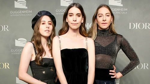 Haim Headlined the Guggenheim Gala Pre-Party in Matching Dior