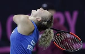 Czechs beat defending champion US 3-0 in Fed Cup final