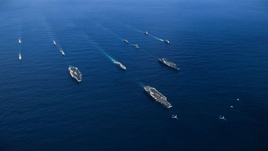 The aircraft carrier show of force near North Korea during Trump's Asia trip cost the US Navy big time