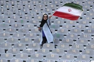 Iran women freely at FIFA soccer match, 1st time in decades