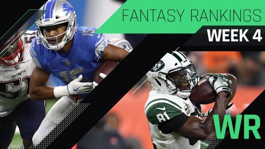 Week 4 Fantasy Rankings: WR