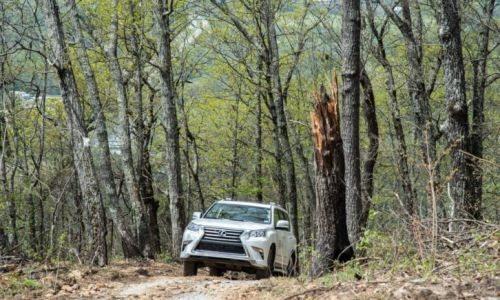 Lexus Adventure Arrives at Blackberry Mountain Resort