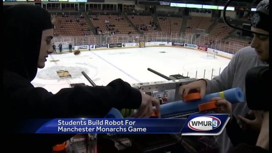 STEM night hosted at Manchester Monarchs game