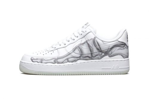 "Take an Official Look at Nike's Halloween-Themed Air Force 1 ""Skeleton"""