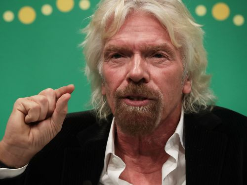 Virgin Airlines owner Richard Branson said air travel has to exist or 'we go back to the Dark Ages' when asked about the climate crisis
