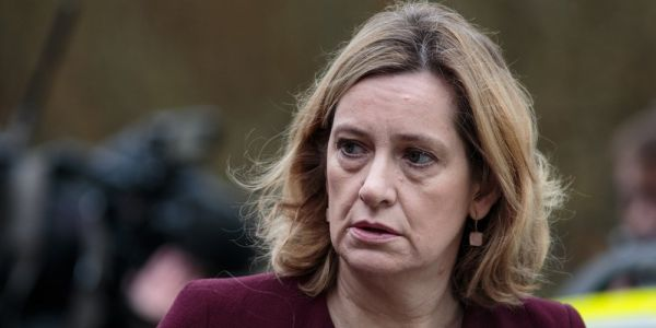 Amber Rudd refuses to rule out Britain staying in a customs union after Brexit