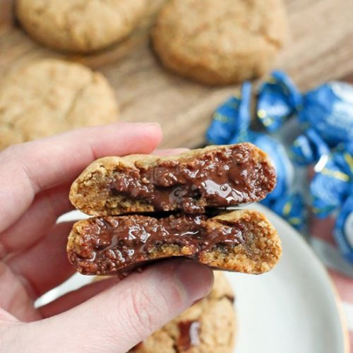 Paleo Chocolate Filled Cookies