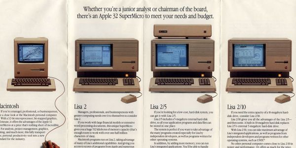 These old Apple ads show how similar - and different - the company and its products were back in the day