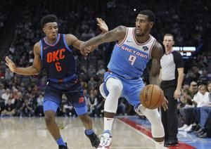 Thunder rookie Diallo leaves on stretcher after hard fall