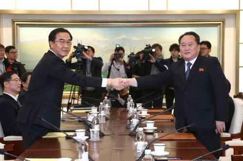 North and South Korea agree to form their first joint Olympic team