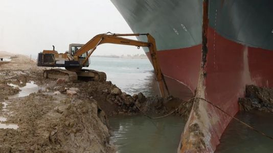 The guy driving the Suez Canal excavator said he got by on 3 hours of sleep a night and hasn't been paid his overtime yet