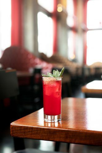 Miss Nightingale, A Hibiscus Drink