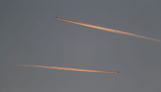 Long-lasting contrails from airplanes warm our atmosphere. But a small change in plane altitude could reduce their impact by 59%