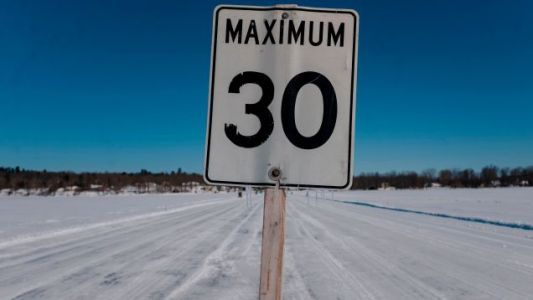 Minnesotans Built An Ice Road To Bring In Tourism During The COVID-19 Pandemic