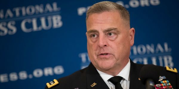 Trump tweets nomination of General Mark Milley for chairman of the Joint Chiefs of Staff, the nation's top military position