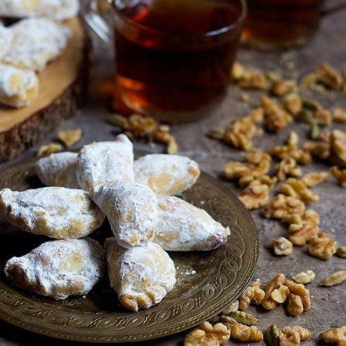 Walnut Filled Persian Pastry