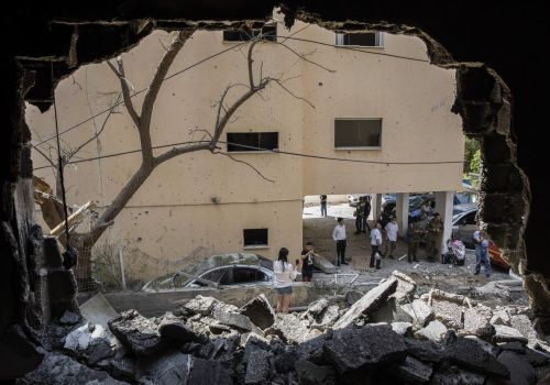 Before any diplomacy begins, Israel attacks Gaza with ground forces