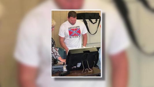 Report: Hospital worker fired after wearing Confederate shirt with noose to vote