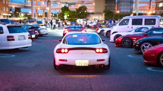 Here's How Japan Does A Giant Mazda Rotary Party