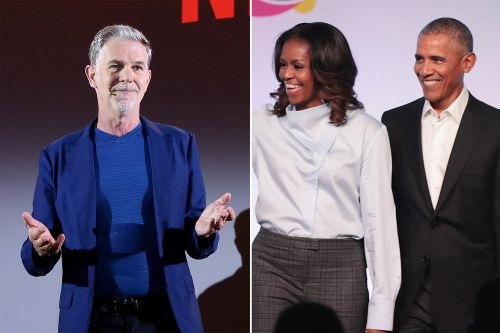 Reed Hastings and the Obamas are making bank with Netflix deal