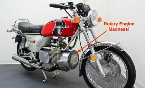 Let's Have A Close Look At The Hercules W-2000: The World's First Rotary Motorcycle