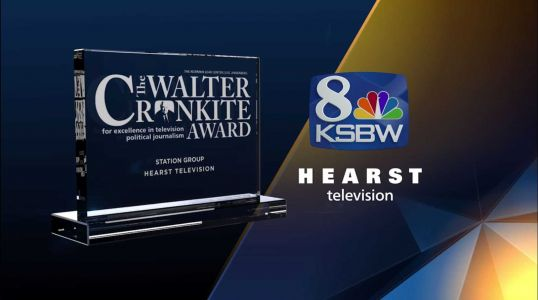 KSBW-TV, Hearst Television honored for commitment to political coverage