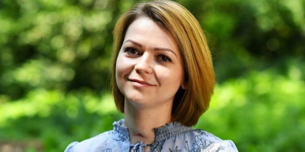 Yulia Skripal filmed her first public statement with a deep red scar on her neck - and it hints at her 'extremely painful' recovery