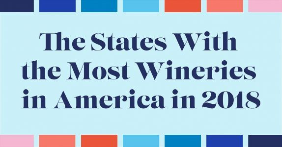 Mapped & Ranked: The States With the Most Wineries in America (2018)
