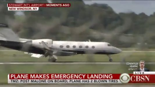 Rapper Post Malone to People Wishing For His Damaged Plane to Crash: 'Fuck You'