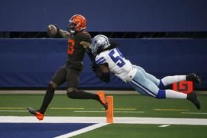The Latest: Browns will have Beckham vs. Steelers
