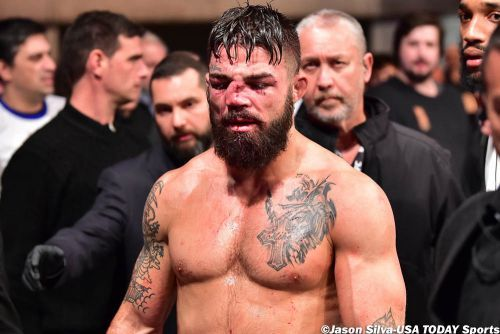 Mike Perry says inexperienced UFC 255 corner team there for 'moral support,' not fight knowledge