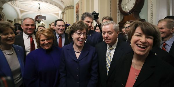Meet the Common Sense Coalition - the bipartisan group of senators who ended the government shutdown