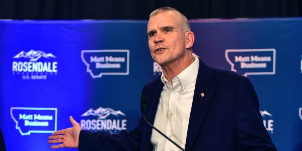 Kathleen Williams faces off against Matt Rosendale in Montana's At-Large Congressional District