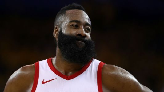 James Harden on obvious missed travel call: 'What do you want me to say? Tell on myself?'