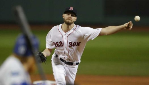 Red Sox, pitcher Chris Sale nearing deal on long-term extension, ESPN says