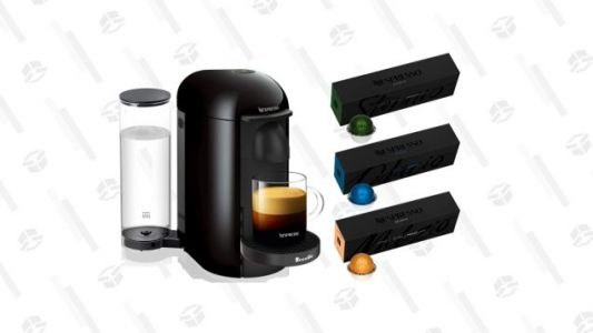 Take $40 off This Espresso Maker Complete With Nespresso Coffee's Top Sellers Today Only