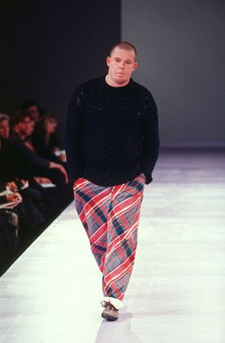 When Alexander McQueen Turned Model for Comme des Garçons