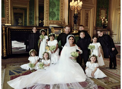 Turns Out, There Is a Reason Prince George Was Smiling in the Royal Wedding Portrait
