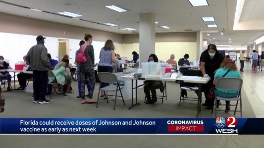 Florida could get Johnson & Johnson vaccine next week