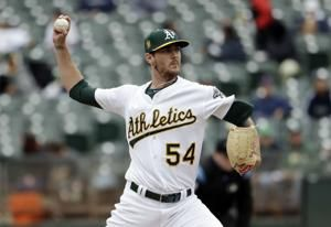 Piscotty, A's tag Hernandez early, beat Mariners 4-3