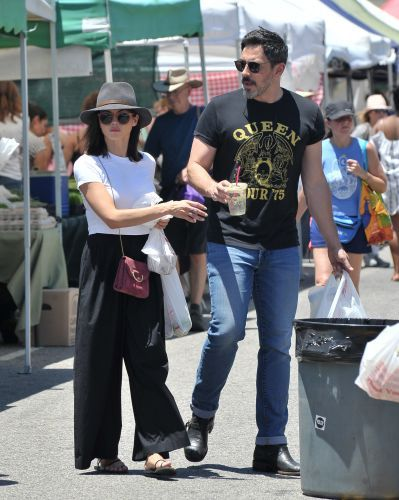 Jenna Dewan and Boyfriend Steve Kazee Step Out for a Sweet Date at the Farmers' Market - See Photos!